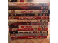 Selection of 12 Dvd's