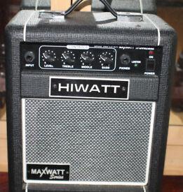 HIWATT GUITAR PRACTICE AMP.