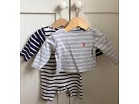 Joules boys baby clothes 0-3 months