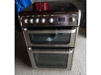 Hotpoint ULTIMA 60cm Gas Cooker in Shiny Silver
