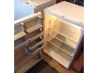 Bosch fridge 160l approx 87 cm tall, 58 cm front to back, 58 cm wide (inc hinges)