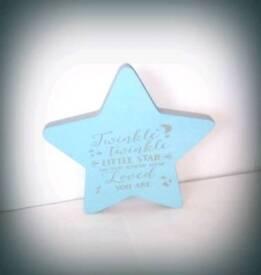 MDF star shape.