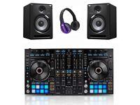 Pioneer DDJ-RX Controller + 2 Pair S-DJ80X Active Monitors & HDJ-500 Headphones Full Warranty 2019