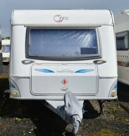 TEC Travel King 510TE 4 berth (two of which are fixed single beds)