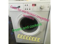 Washing machine £10
