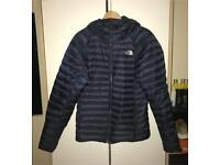 Navy North Face Coat