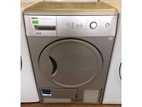 REDUCED! Beko , Silver , 6KG , Sensor Dry CONDENSER DRYER + 3 Month Guarantee + FREE LOCAL DELIVERY