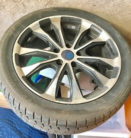 235 / 45 R17 wheel and Tyre PCD 5x108 for sale