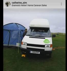 4 berth VW campervan