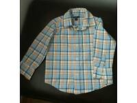 Gap boys long sleeved dress shirt age 2 years