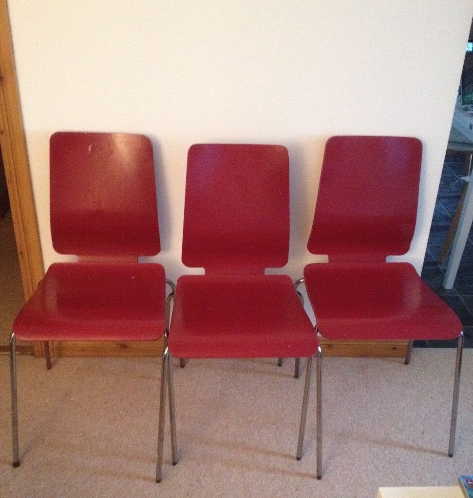 Superbe 4 Ikea U0027Gilbertu0027 Dining Chairs For Sale (Needs To Go ASAP)