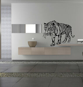 Nice Wall Designs 1000 images about wall designs on pinterest wall design paint designs and paintings Image Is Loading Wild Cats Tiger Nice Wall Decor Vinyl Decal