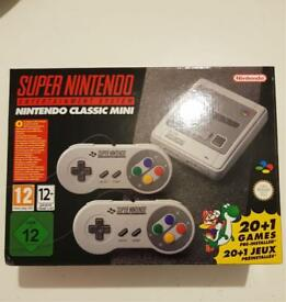 SNES (BRAND AND SEALED)