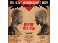 Robbie Williams x1 ticket