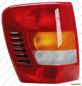 Tail Lamp Driver Side 11/2001-2004 Jeep Grand Cherokee 2001-2004