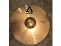 "Paiste 21"" Alpha Series Groove Ride Cymbal"