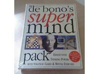 NEW DK edward de bono's Super Mind Pack