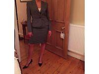 Women's Female 3 piece grey Slaters Suit - Size 10/Small