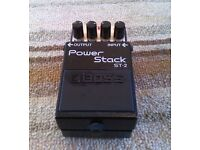 Boss Power Stack ST-2 (Distortion pedal for guitar) £60 Sutton Coldfield. Cash on collection