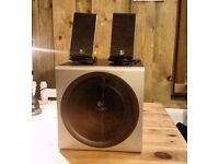 Logitech Z-2300 Computer Speakers Stereo 2.1 System Music Multimedia - Used Working Very Well
