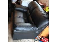 Bargain 2 seater leather couch for sale