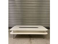 White Coffee Table by Offecct