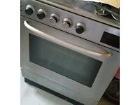 Hotpoint stainless steel gas cooker