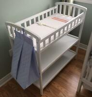 Change table $70 obo with diaper bag