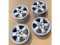 Full Set - Genuine Sportive Alloy Wheel Rim Tyre 16in Vauxhall Vivaro Renault Trafic Traffic 3
