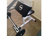 Gym (Preacher Curl. New)