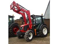ArmaTrac tractor 504E with loader 50HP 4WD as new.