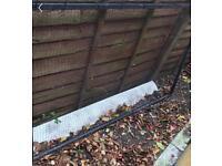 Flat steel pond framed net cover