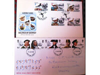 STAMPS - First Day Covers from the 1980's. £1.25 - £2