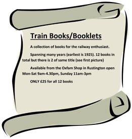 Book Bundle for Train Enthusiasts