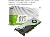 Graphic cards wanted