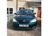 Toyota Carolla 1.6 vvt long MOT