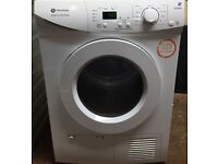 43 Whiteknight B96M8W 8kg White Sensor Dry LCD Condenser Tumble Dryer 1 YEAR GUARANTEE FREE DELIVERY