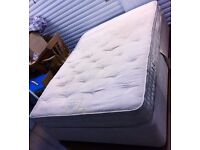 KING-SIZE LUXURIOUS PILLOW TOP BED & MATCHING KING-SIZE MATTRESS - £65 ONO QUICK SALE