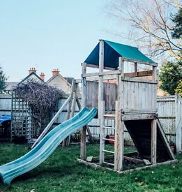 Climbing Frame, Swing Set, Tower and Climbing Wall