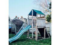 Climbing Frame, Swing Set, Tower and Climbing Wall