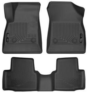 Chevrolet Cruze Husky Liner Weatherbeater Floor Liners (Molded Floor Mats) | Free Shipping | www.motorwise.ca