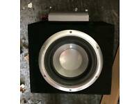 Sony explode sub with amp