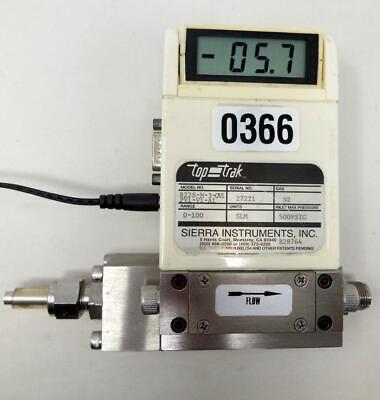 Sierra Instruments Nitrogen Flow Meter 822s-m-3-ov1-pv1-v1-a1 Ships Today