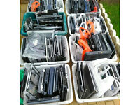 8 Boxes of used laptop spares