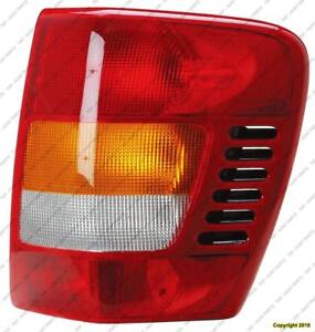 Tail Lamp Passenger Side 11/2001-2004 High Quality Jeep Grand Cherokee 2001-2004