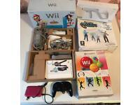 Nintendo Wii Bundle Accessories + TONS games
