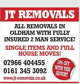 JT REMOVALS - FULLY INSURED HOUSE REMOVALS IN ALL AREAS! CALL FOR A FREE QUOTE! 10% off all moves!