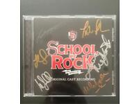 Signed Copy of School go Rock Original Cast Recording