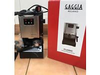 Gaggia Classic Espresso Machine and Baratza Virtuoso Grinder