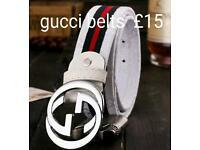 Gucci hermes Louis vuitton belts